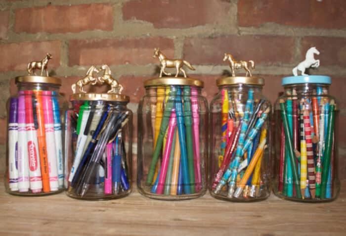 DIY Decorative Jars by Horses and Heels