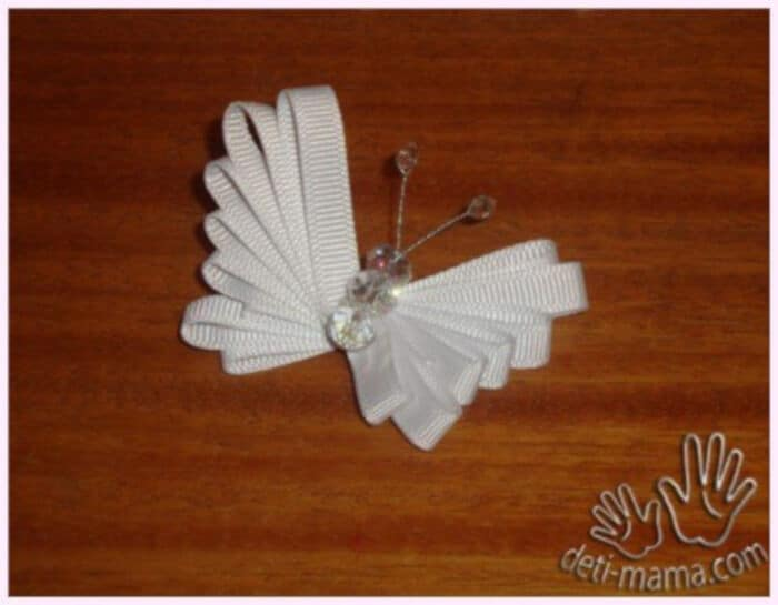DIY Easy Ribbon Butterfly by Fab Art DIY