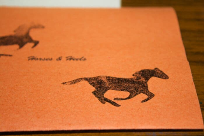 DIY Horse Stamps by Horse and Heels