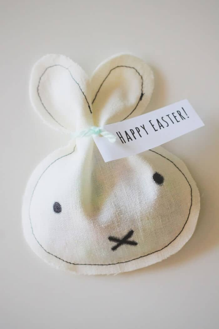 DIY Miffy Inspired Easter Treat Bags by Emily Loeffelman