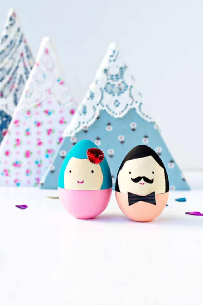 DIY Mr. and Mrs. Egg by Say Yes