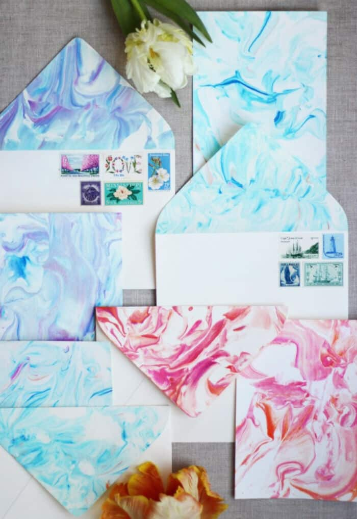 DIY Paper Marbling by Honestly WTF