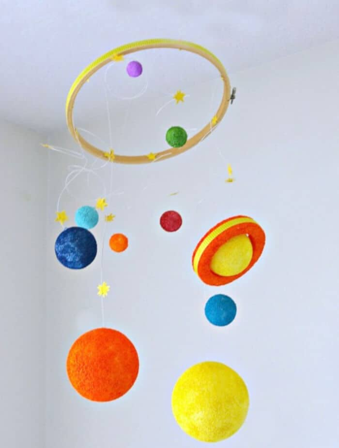 DIY Solar System Kids Craft by Todays Creative Life
