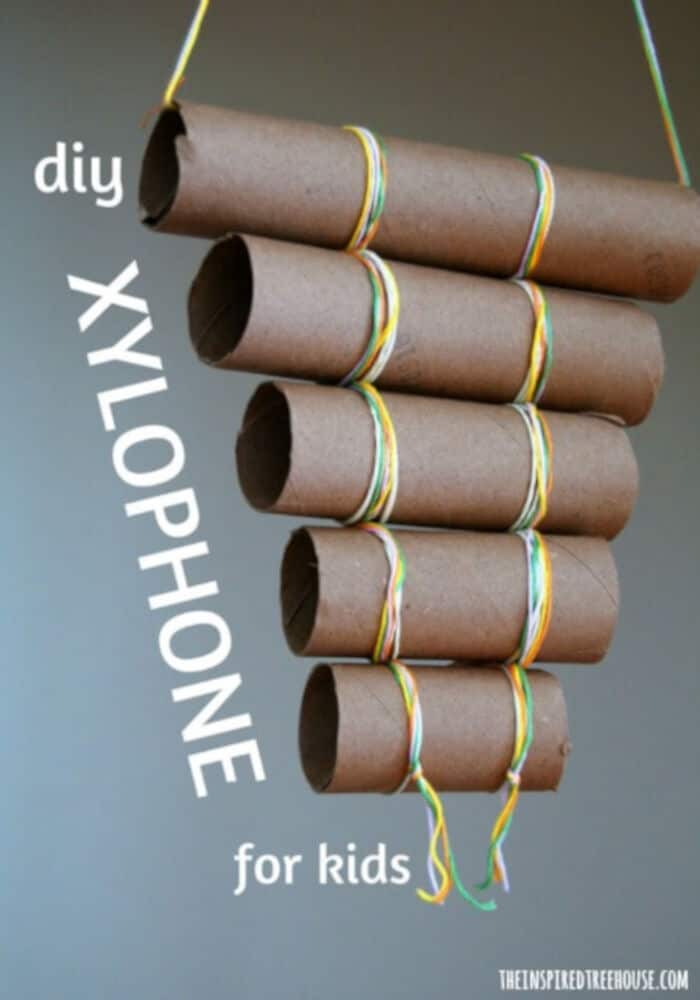 DIY Xylophone by The Inspired Treehouse