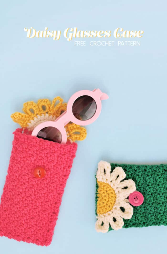 Daisy Glasses Case by Persia Lou