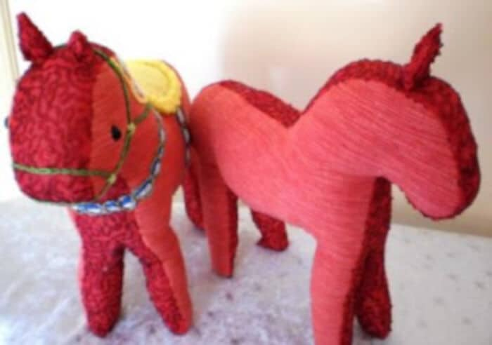 Dala Horse Pattern by Golden Lilly Crafts