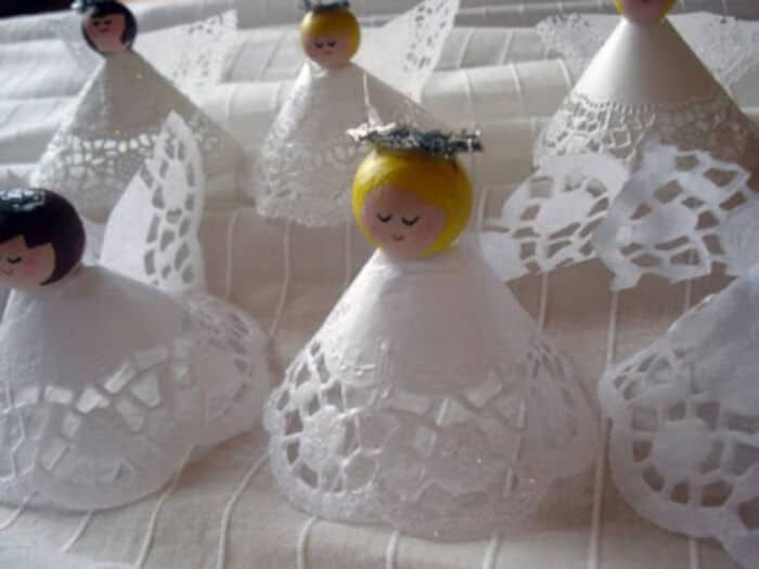Doily Angels by sycamore stirrings