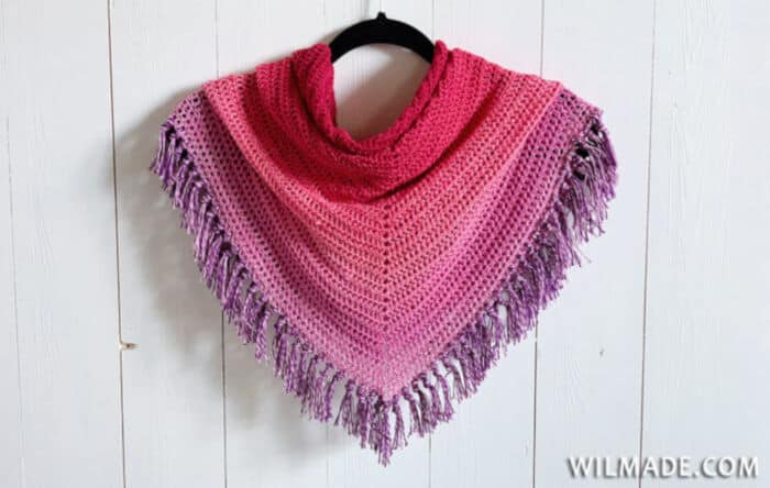 Double Crochet All The Way Shawl by Wilma Westenberg