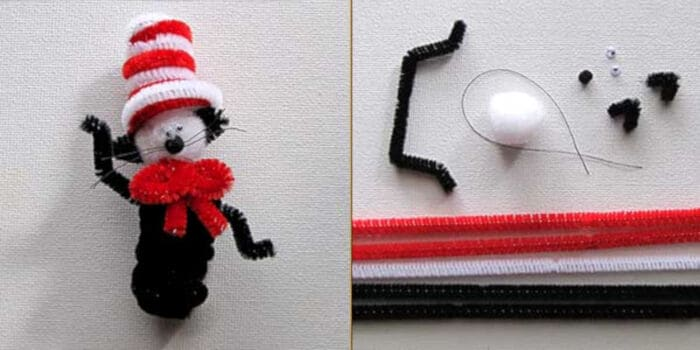 Dr. Seuss Cat in the Hat Craft by Woo! Jr. Kids Activities