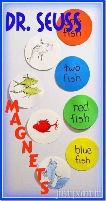 Dr. Seuss Magnets by Just Paint It