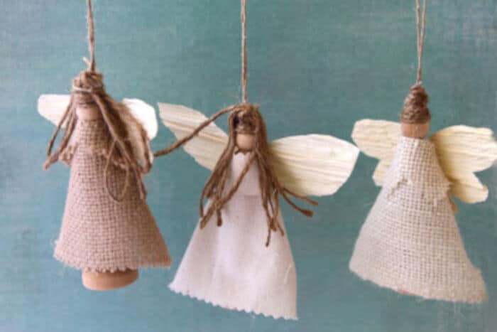 Earth Angel Ornaments by Sweet Tidings