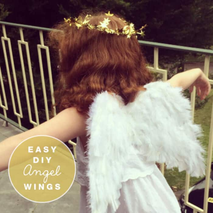 Easy DIY Angel Wings by The Craft Train