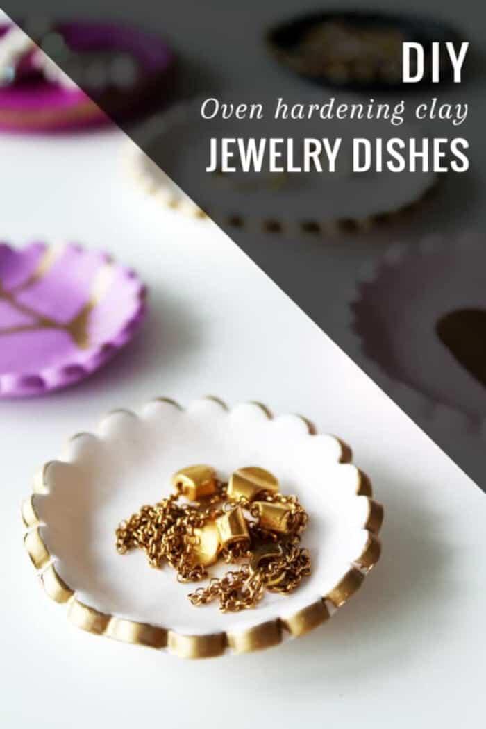 Easy DIY Clay Jewelry Dish by Hello Glow