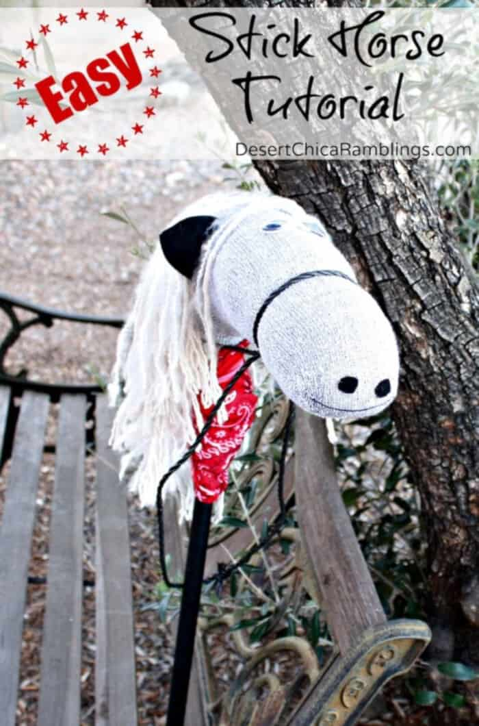 Easy Stick Horse by Desert Chica