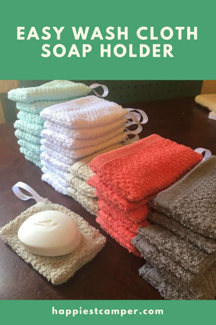 Easy Wash Cloth Soap Holder by Happiest Camper