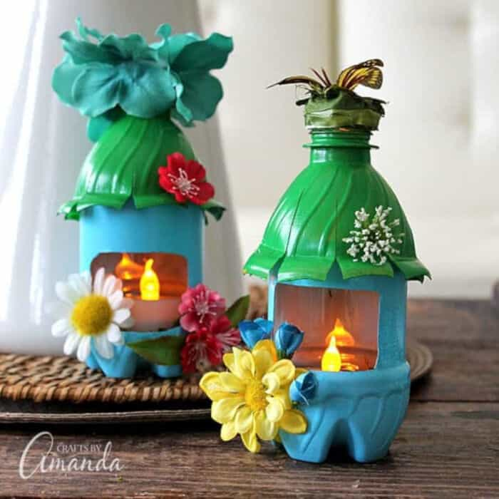 Fairy House Night Lights by Crafts by Amanda