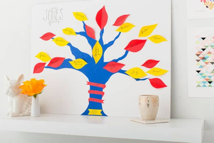 Family Tree Wall Art by Brit + Co