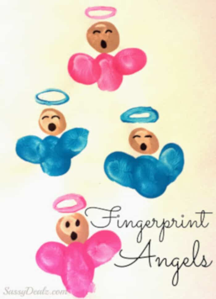 Fingerprint Angels by Crafty Morning