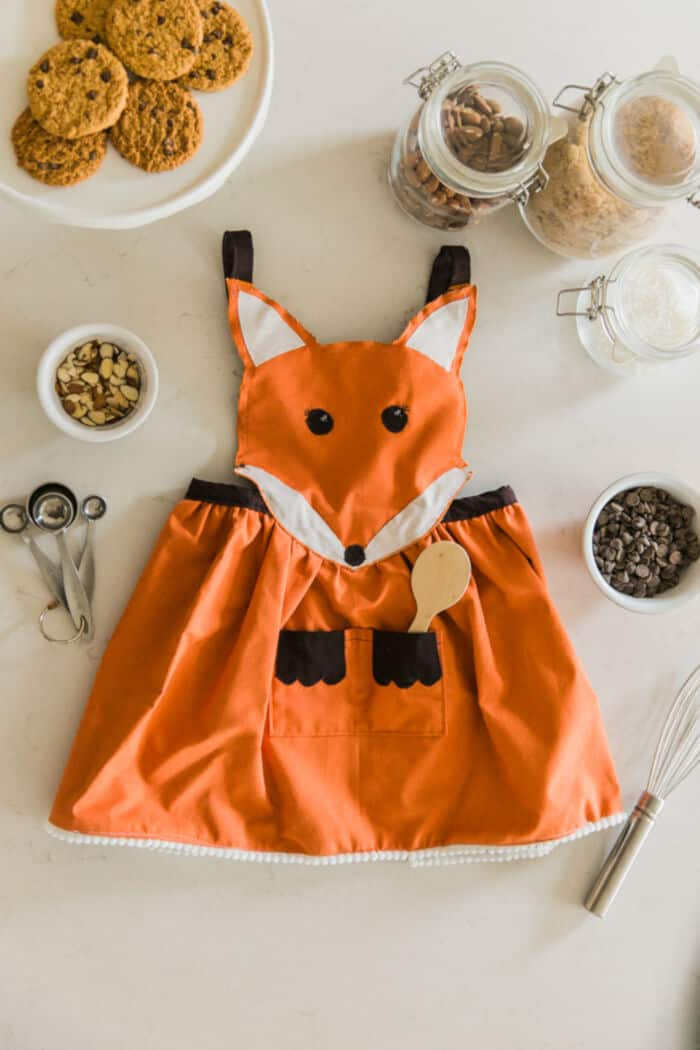 Fox Apron Tutorial and Pattern by Simple As That