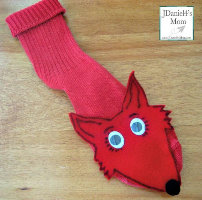 Fox in Socks Sock Puppet by JDaniel4s Mom