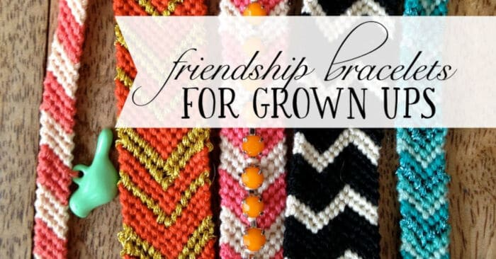 Friendship Bracelets for Adults by Good and Simple