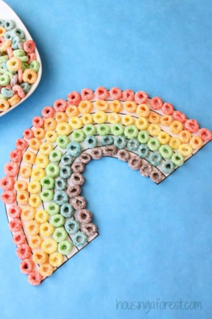 Fruit Loop Rainbow by Housing a Forest