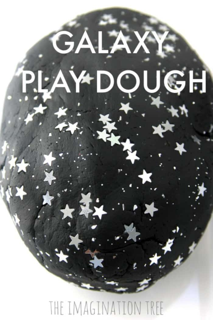 Galaxy Play Dough by The Imagination Tree