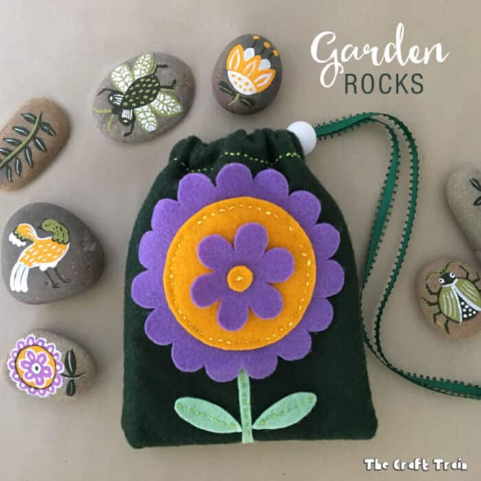Garden Rocks by The Craft Train