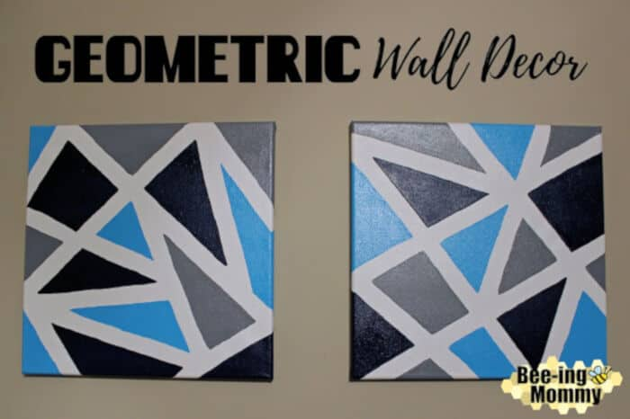 Geometric Wall Decor by Bee-ing Mommy