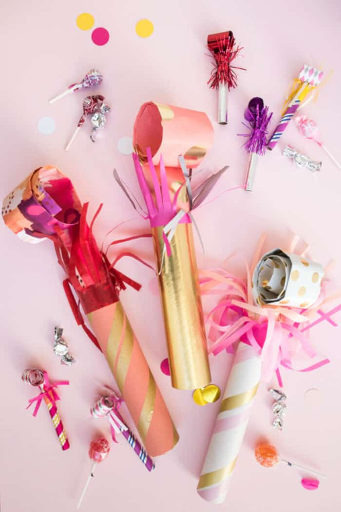 Giant Party Blowers DIY by Oh Happy Day