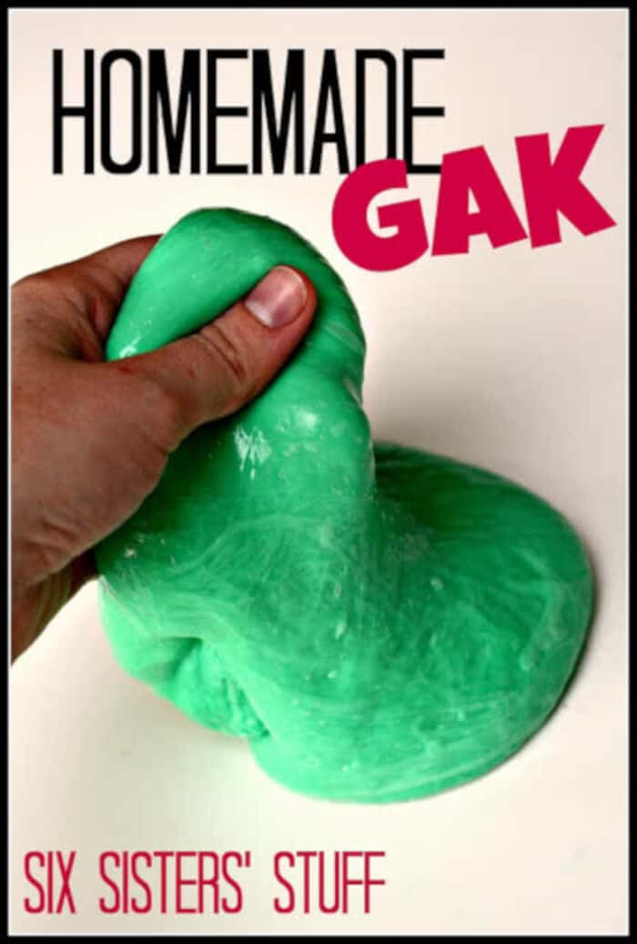 Homemade Gak by Six Sisters Stuff