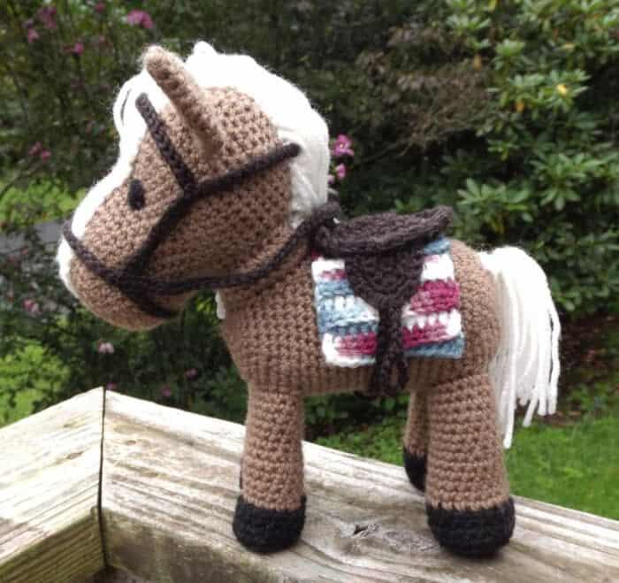 Horse Amigurumi Pattern by Etsy