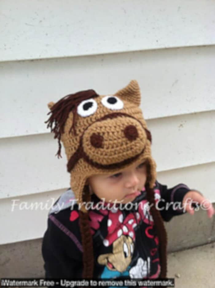 Horse Hat by Ravelry