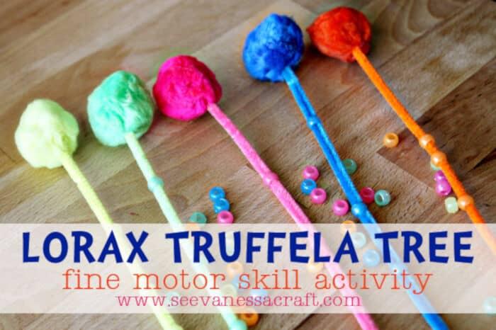 Lorax Trufella Tree by See Vanessa Craft