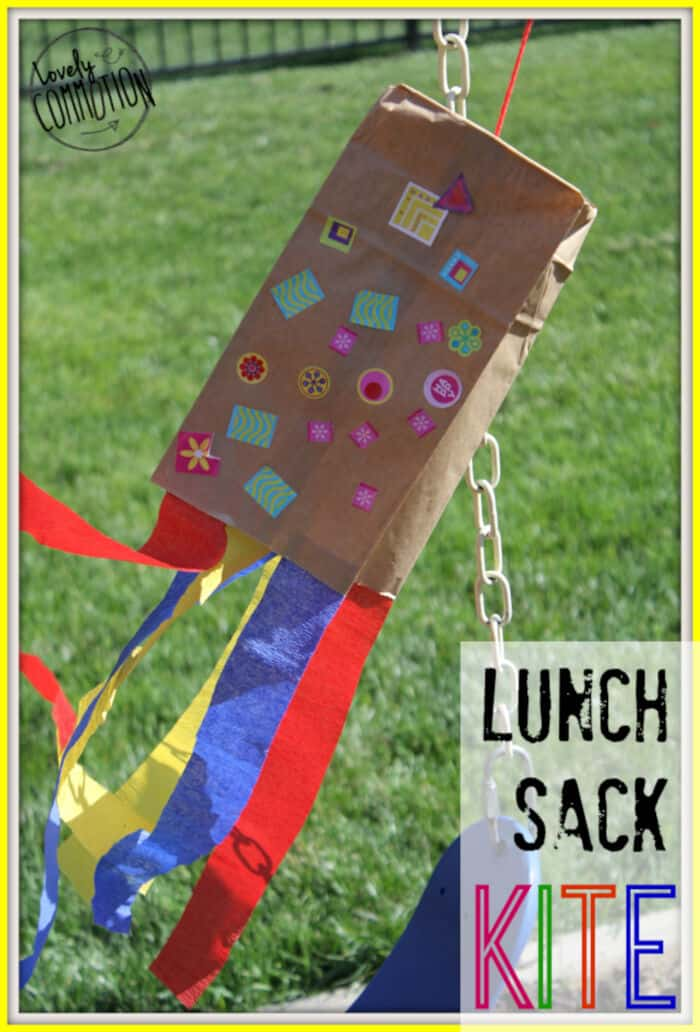 Lunch Sack Kite by Lovely Commotion