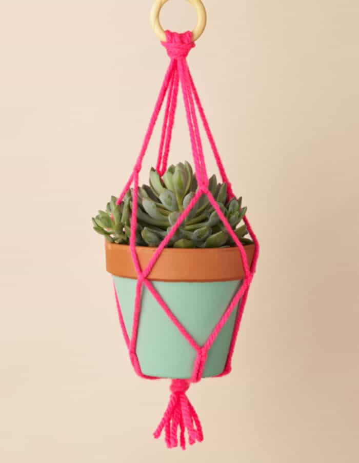 Macramé Plant Hanger by Mollie Makes