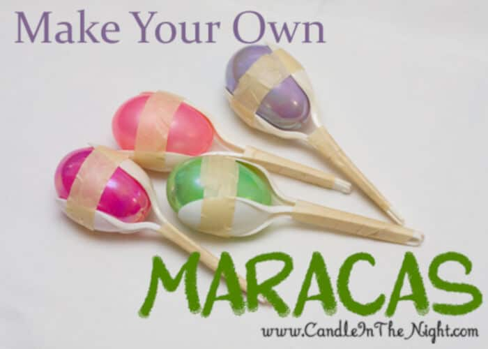 Make Your Own Maracas by Candle in the Night