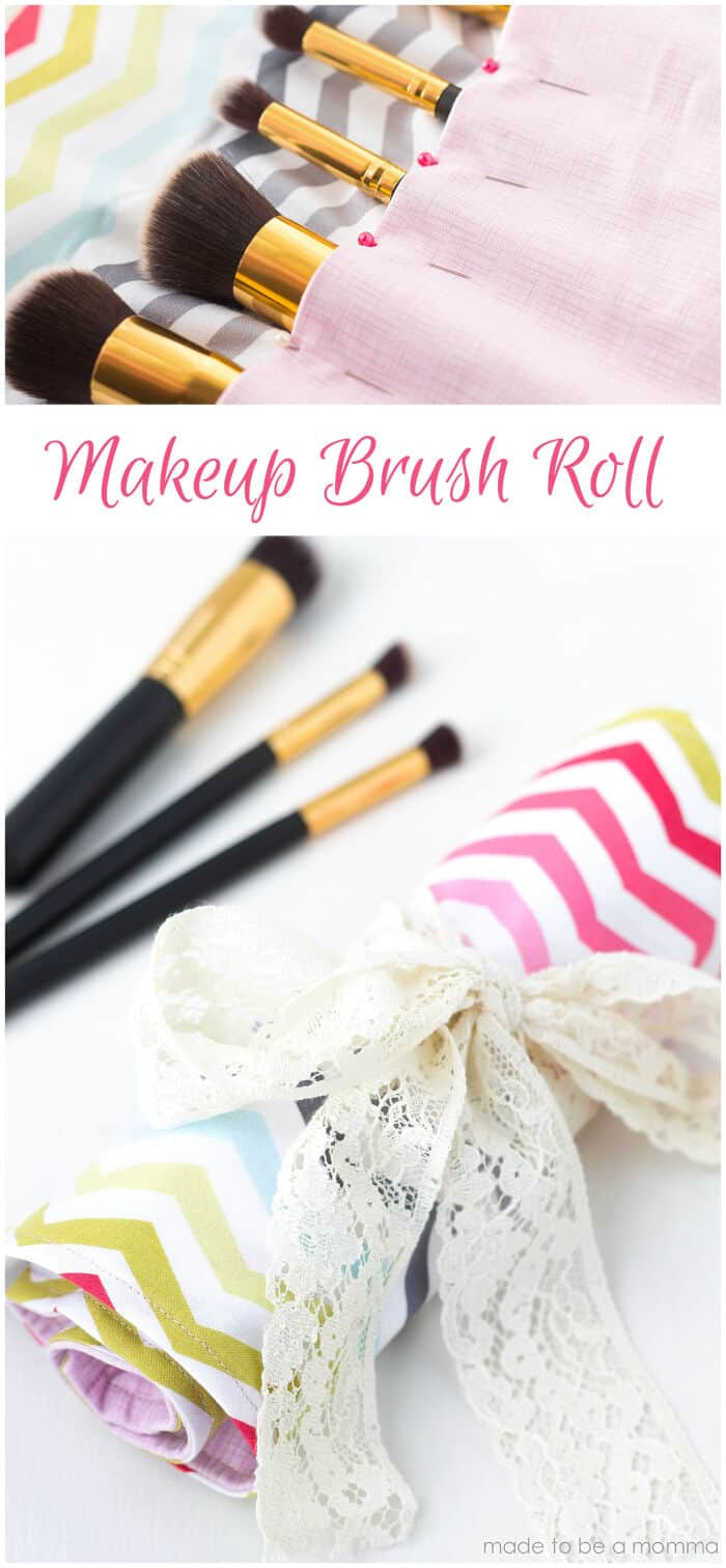 Makeup Brush Roll by Made To Be A Momma
