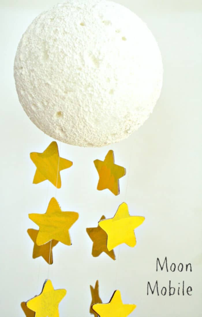 Moon Craft Mobile for Kids by Fantastic Fun and Learning