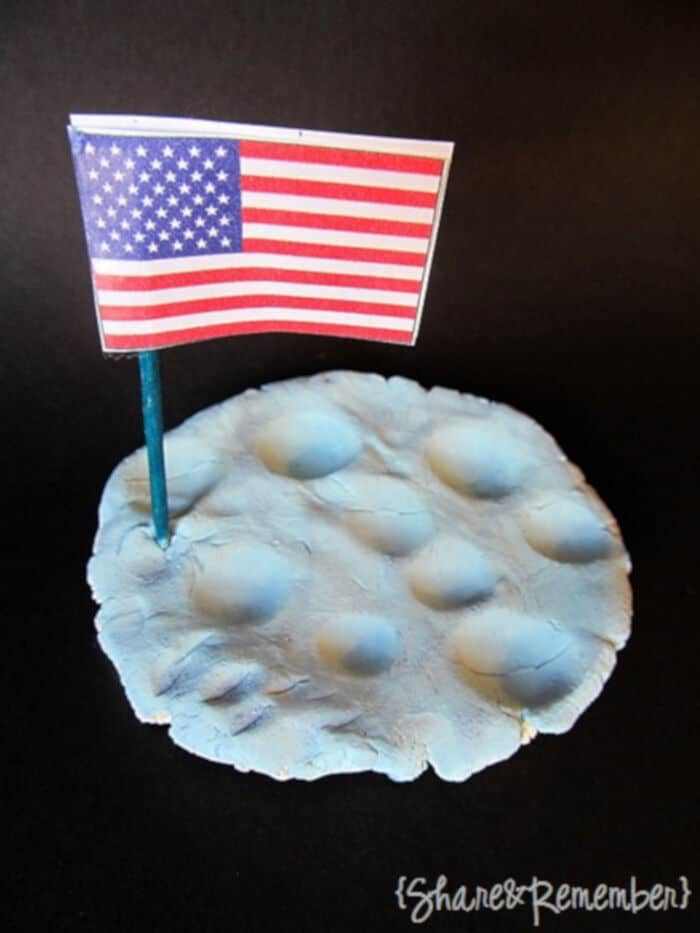 Moon Craters Space Theme Craft by Things To Share and Remember