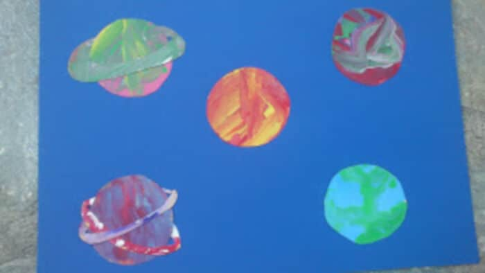 Moon and Planets by Maros Kindergarten