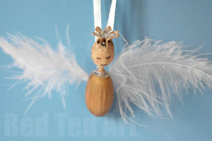 Nature Crafts Angel by Red Ted Art