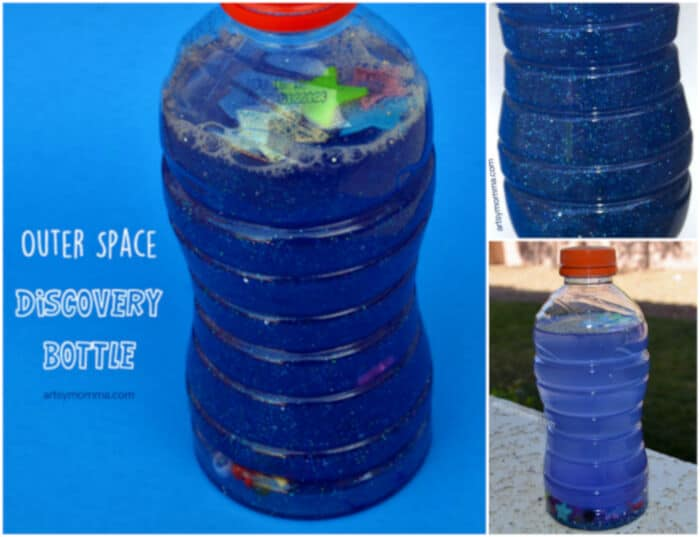 Outer Space Discovery Bottle by Artsy Momma