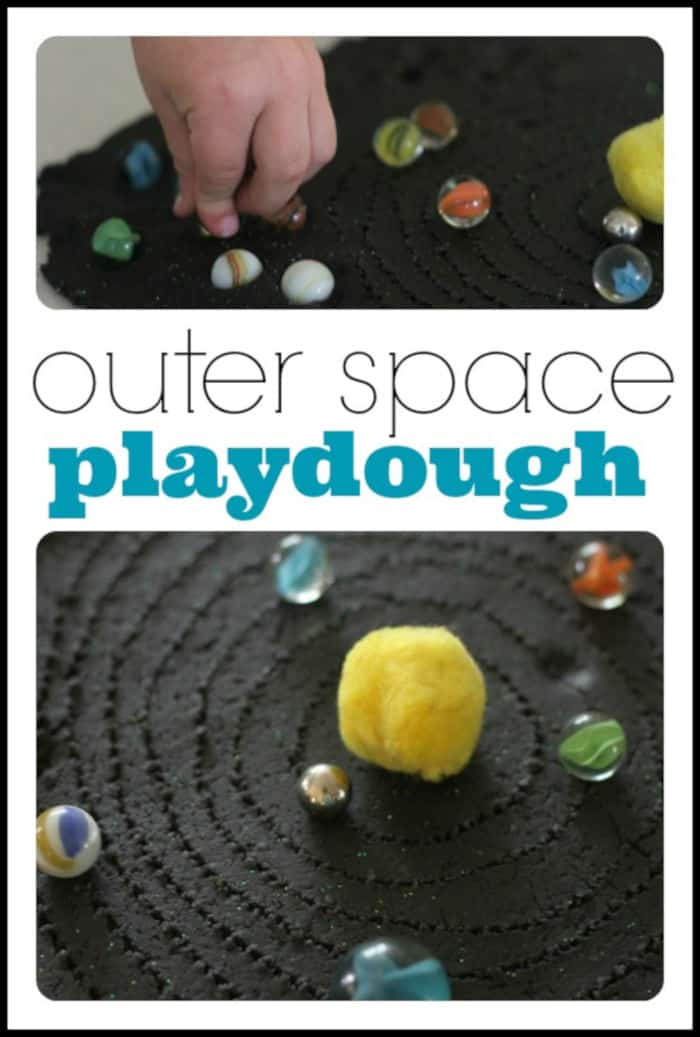 Outer Space Playdough by I Can Teach My Child