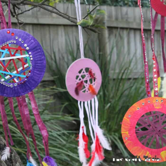 Paper Dream Catchers by The Craft Train