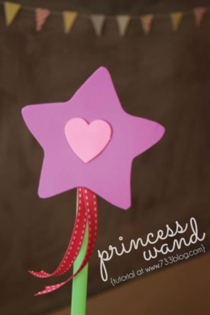 Princess Wand by Inspiration Made Simple