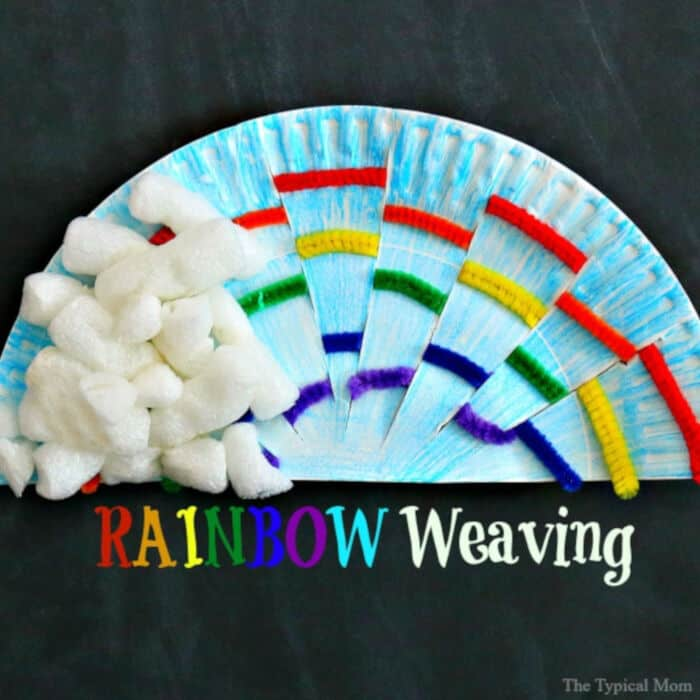 Rainbow Weaving by The Typical Mom