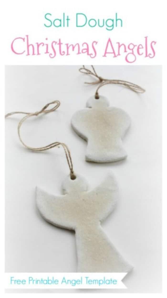 Salt Dough Christmas Angels by Emma Owl
