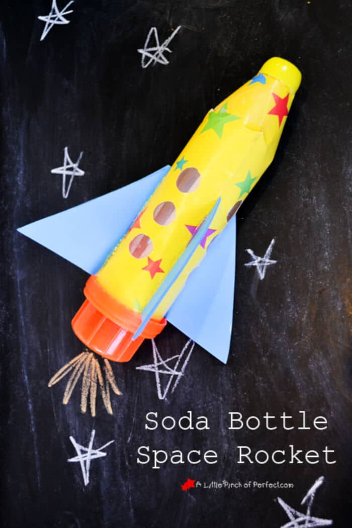 Soda Bottle Space Rocket by A Little Pinch of Perfect