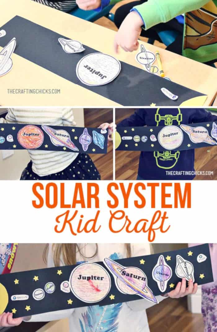 Solar System Craft by Crafting Chicks